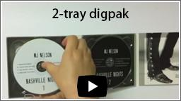 2-tray digipak