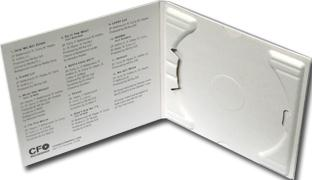 digipak with recycled tray