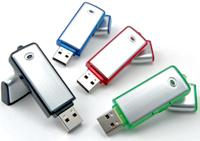usb drive with color rim and square edge