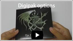 digipak options