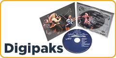 CD digipaks