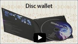 cd disc wallets